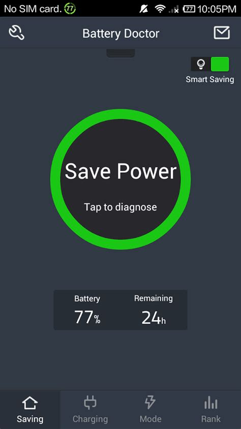 battery doctor saver apk battery doctor battery saver 4 2 1 apk android free andriod applications