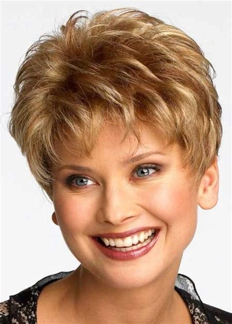 short 80 blown back hair styles women blonde pixie cut monofilament ladies wig luxury ladies