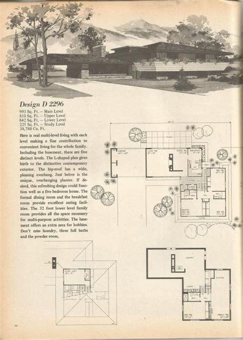 1970s house plans pinterest the world s catalog of ideas