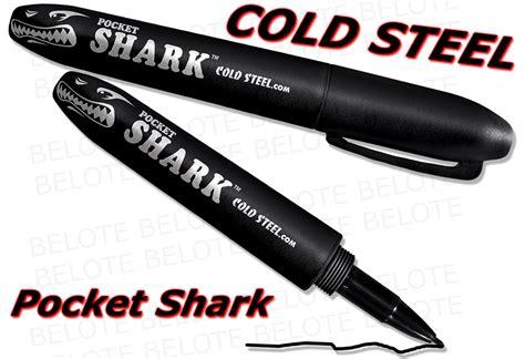 pocket shark cold steel pocket shark self defense marker pen 91spb ebay