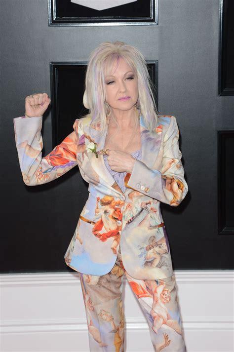 Grammy Awards Cyndi Lauper by Cyndi Lauper 2018 Grammy Awards In New York