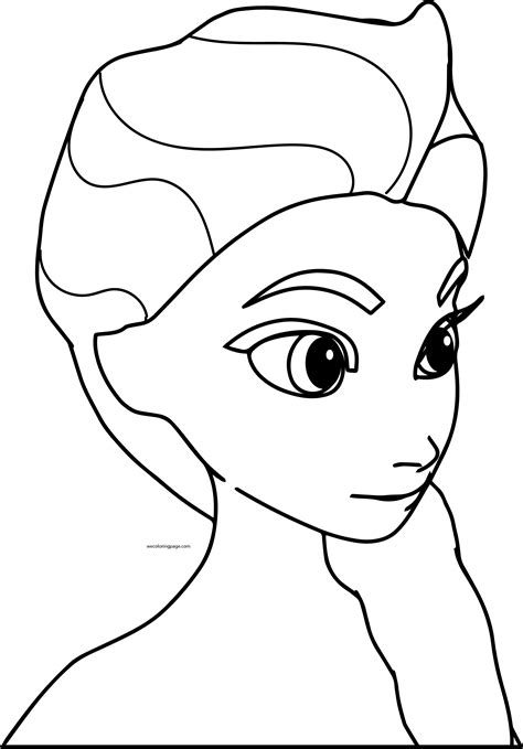 chibi elsa coloring page disney frozen coloring pages chibi elsa coloring page
