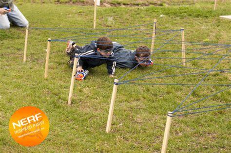 fun outdoor party ideas for boys make an obstacle course