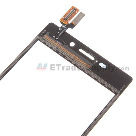 Touchscreen Sony Experia M2 D2302 1 sony xperia m2 digitizer touch screen black etrade supply