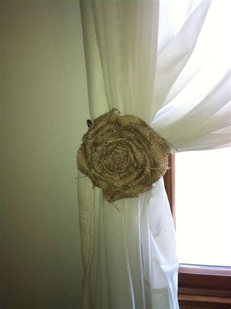 tiebacks for curtains ideas best 25 homemade curtain tiebacks ideas on pinterest