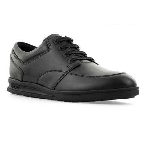 Kickers Diesel Leather Black kickers mens troiko lace leather shoes black mens from