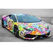 Graffiti Lamborghini Huracan By Sekanskin  Motorward