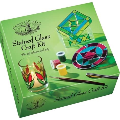 crafting kits for stained glass craft kit craft kits house of crafts hc530