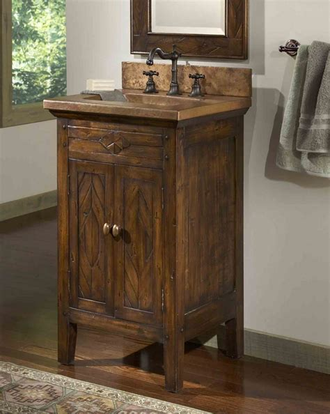 Rustic Style Bathroom Vanities Rustic Bathroom Vanity Small Derektime Design Rustic Bathroom Vanity Wood