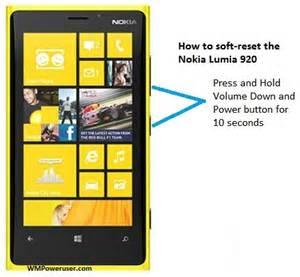 Resetting A Nokia Lumia 920 | how to soft reset the nokia lumia 920 mspoweruser