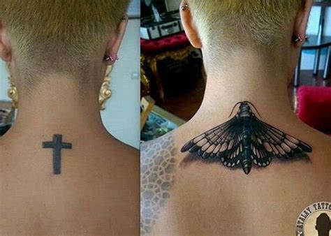 neck tattoo cover up ideas 55 incredible cover up tattoos before and after easy