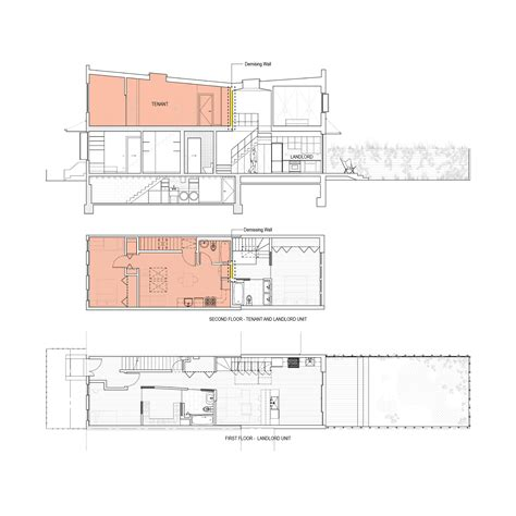 in section 1 gallery of brooklyn row house office of architecture 12
