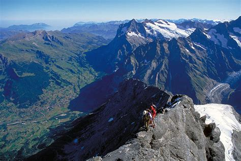 hundreds of mountaineers climb the alps for epic climbing eiger advice mountaineering