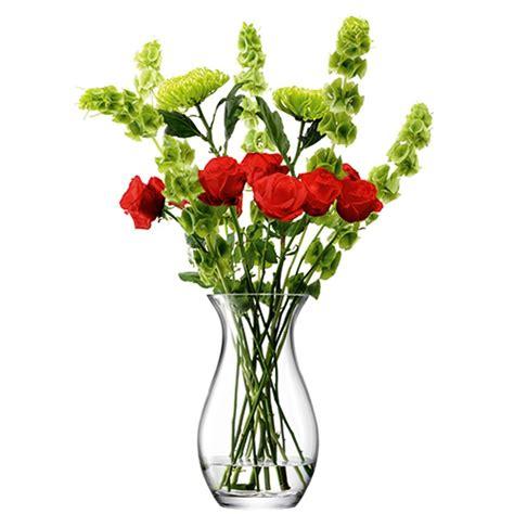Flower Vases Uk by Lsa Festive Flower Grand Posy Vase 32cm