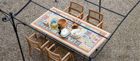 tavoli da esterno design tavoli da giardino per esterno di design unopi 249