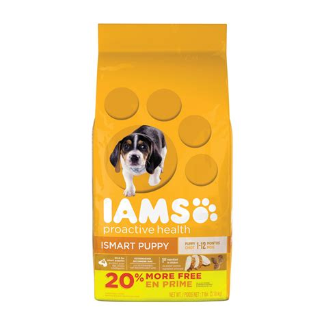 iams puppy chow iams proactive health smart puppy original puppy food petco
