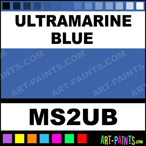 ultramarine blue tints paints ms2ub ultramarine blue paint ultramarine blue color