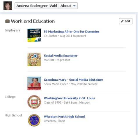 about section facebook 9 tips for integrating your facebook page with your