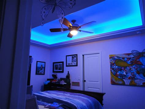 bedroom led lights rooms