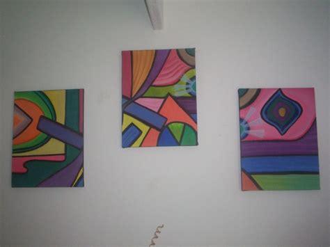 figuras geometricas naturales cuadros abstractos con figuras geometricas imagui