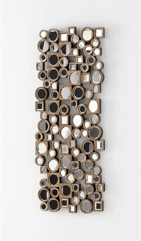 modern wall mirrors decorative aldo abstract modern wall mirror by cyan design