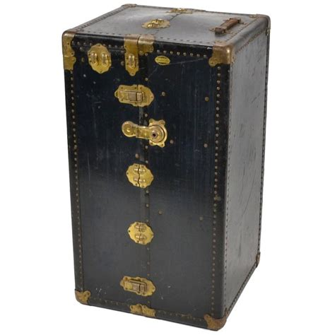 Steamer Wardrobe Trunk by Antique Wonderrobe Steamer Trunk Wardrobe Chest At 1stdibs