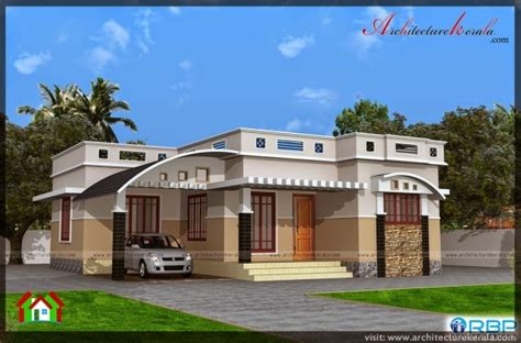 kerala house plans 1200 sq ft marvelous 1000 sqft single storied house plan and elevation architecture kerala house