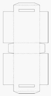 Sacola de Papel Para Imprimir, Recortar, Colar e Montar