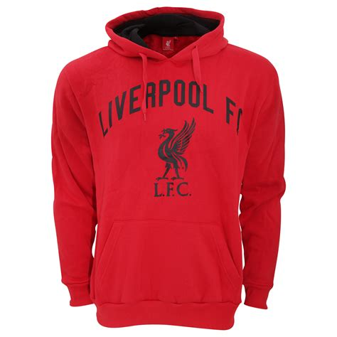 Hoodie Jumper Liverpool 3 liverpool fc mens official large football crest pullover hoodie ebay