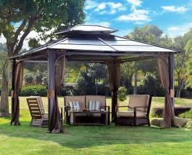 Patio Gazebos And Canopies Gazebo The Garden And Patio Home Guide