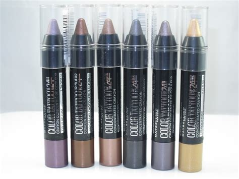 Eye Studio Crayon Liner Maybelline maybelline color concentrated crayon review