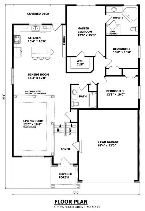 Raised Bungalow Floor Plans | house plans canada stock custom