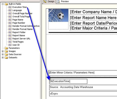 Creating A Reporting Service Report Template Server As Built Document Template