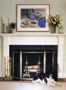 fireplace mantel decorating and fireplace as focal point