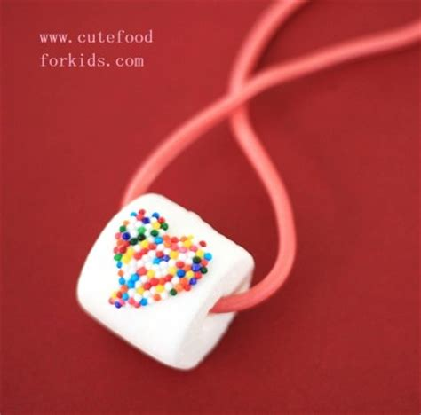 easy edible crafts for edible marshmallow necklace family crafts