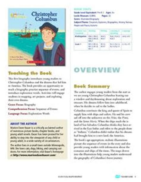 my first biography christopher columbus summary my first biography christopher columbus storia teaching