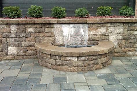 water retaining retaining walls g h landscaping inc