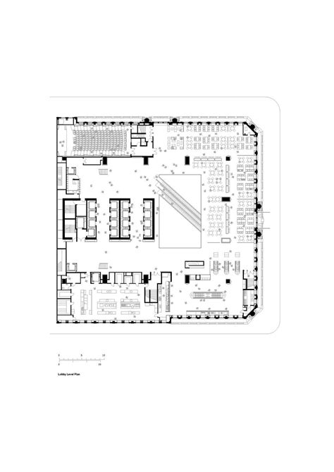 hearst tower floor plan aeccafe archshowcase