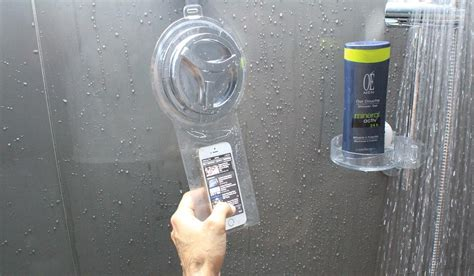 Smartphone Organizer Tempat Handphone Dompet Handphone now you can shower with your smartphone you you want to la times