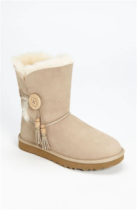 ugg bailey charms boot in beige sand lyst
