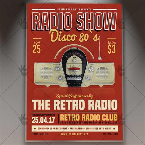 Radio Show Flyer Template