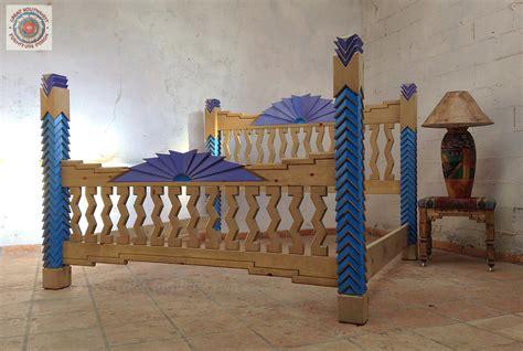 navajo custom southwest style bedroom set