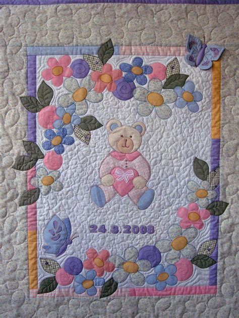 Patchwork Quilts For Babies - ulla s quilt world quilted baby blanket modelli