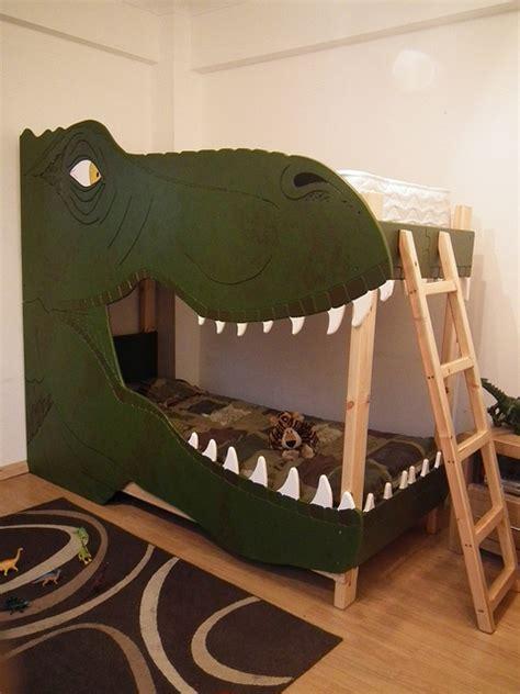 dinosaur bedrooms dinosaur bunk bed flickr photo sharing