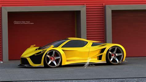Render: Scorpion Supercar by Thebian Concepts   GTspirit