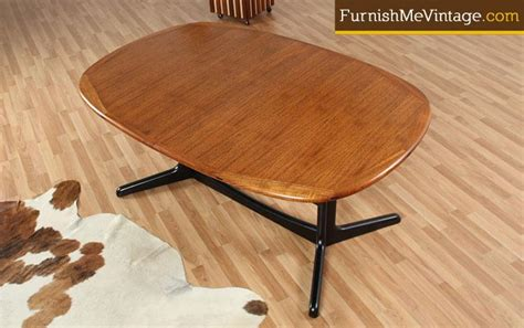 refinished dining table refinished mid century modern dining table