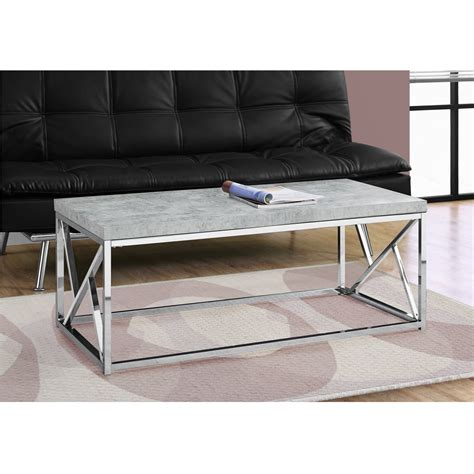 Coffee Tables Houston Houston Modern Coffee Table Cement Grey Shop Living Room Tables