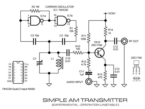 am broadcast transmitter block diagram am transmitter schematic images