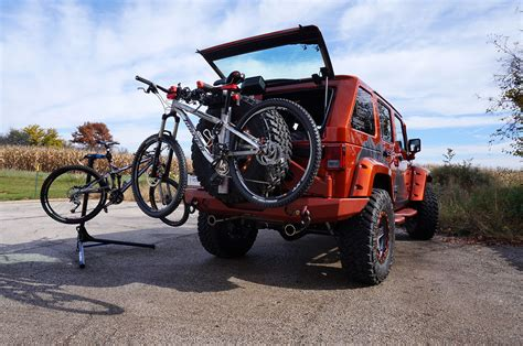 jeep mountain bike project trail seeker transforms a jeep wrangler into the