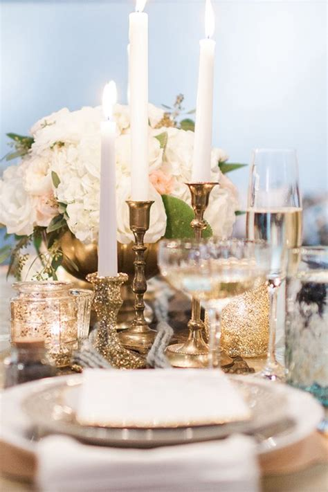 Gold Receptions And Gold Weddings On Pinterest Gold Centerpieces Wedding Reception